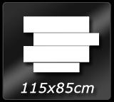 115cm x  85cm