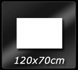 120cm x  70cm