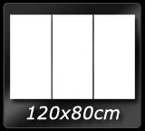 120cm x  80cm 3pcs