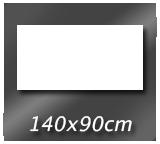 140cm x 90cm