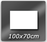 100cm x 70cm