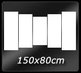 150cm x 80cm 5pcsv2