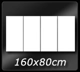 160cm x 80cm