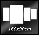 160cm x 90cm