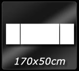170cm x 50cm