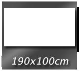 190cm x 100cm