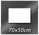 70cm x 50cm
