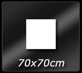 70cm x 70cm
