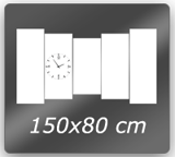 150cm x 80cm 5PCSV2C2