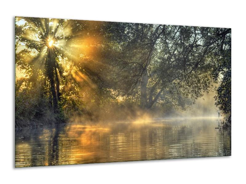 Canvas schilderij Natuur | Grijs, Wit | 120x70cm 1Luik