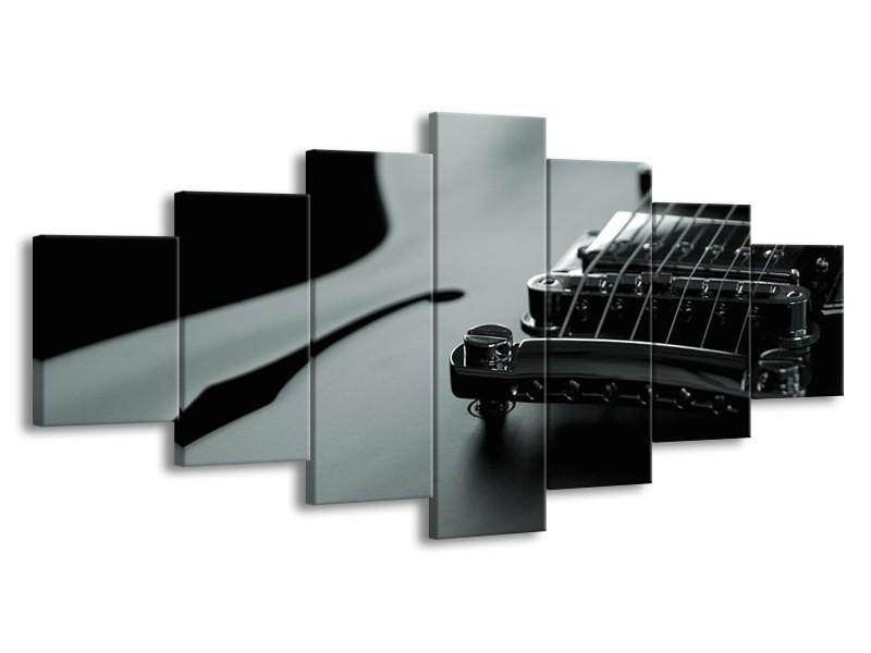 Glasschilderij Muziek | Grijs, Groen | 210x100cm 7Luik