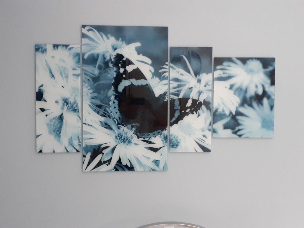 Glas schilderij 4Luik SchilderijenArt GroepArt