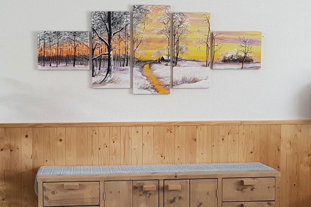 Acryl schilderij 5 luik schilderijenArt.nl